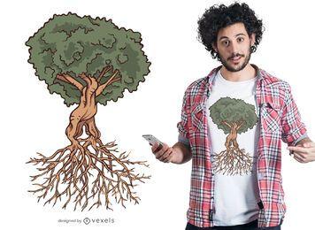 Diseño de camiseta Full Tree