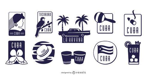 Conjunto de elementos de Cuba