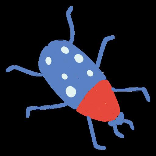 Escarabajo volador plano