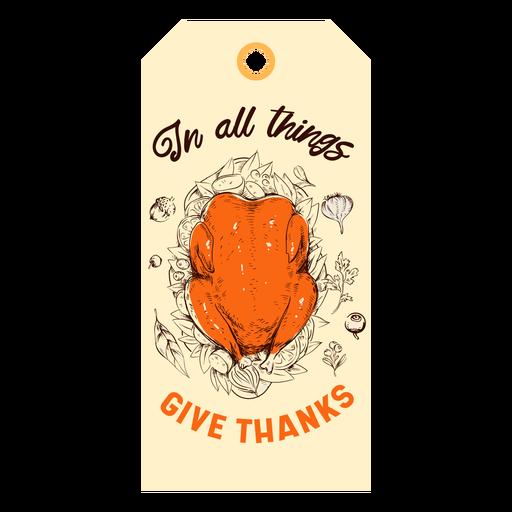 Agradeça peru tag