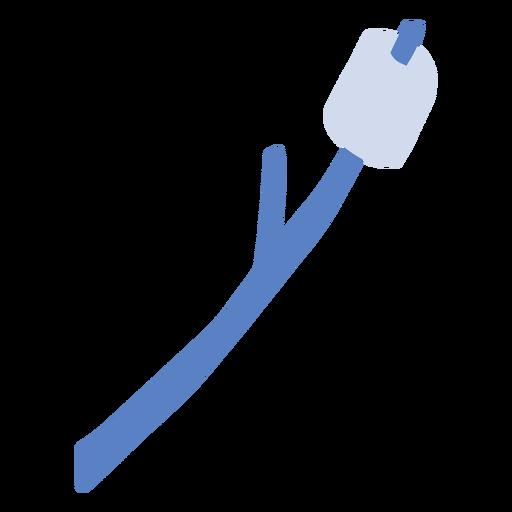 Marshmellow en palo plano