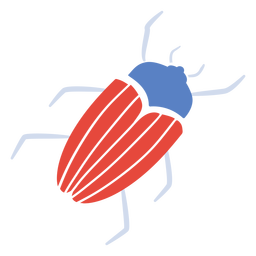 Red beetle flat