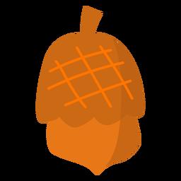 Simple tree acorn flat