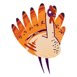 Turkey animal textured