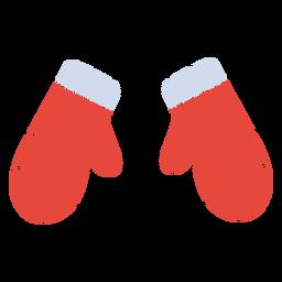 Winter mittens flat mittens