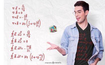 Physik Formel T-Shirt Design
