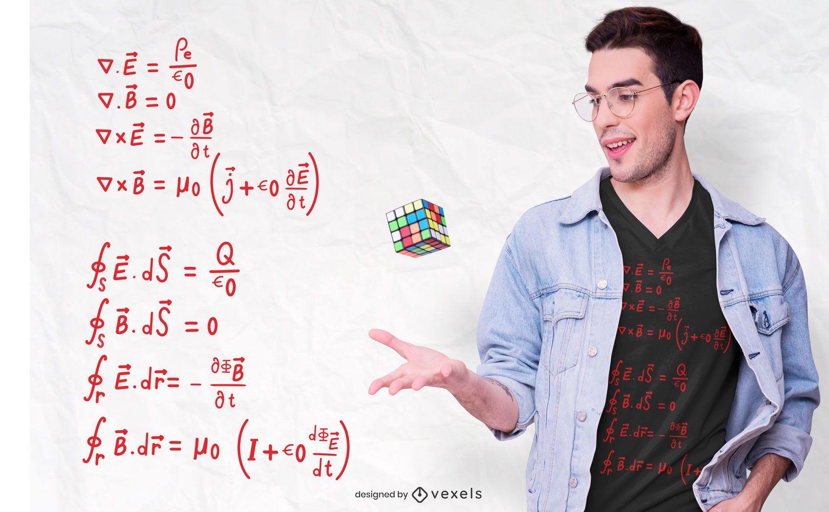 Physics Formula T-shirt Design
