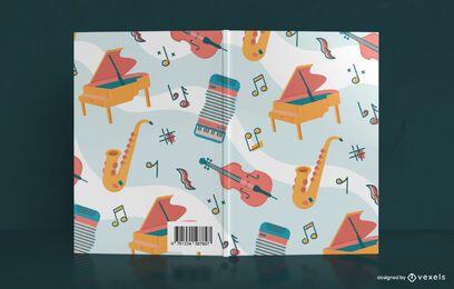 Musik Notebook Buchcover Design