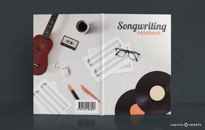 Songwriting Notebook Musikbuch Cover Design