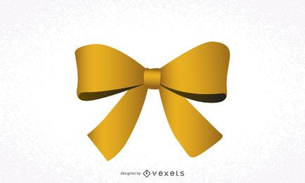 Lazo de la cinta amarilla