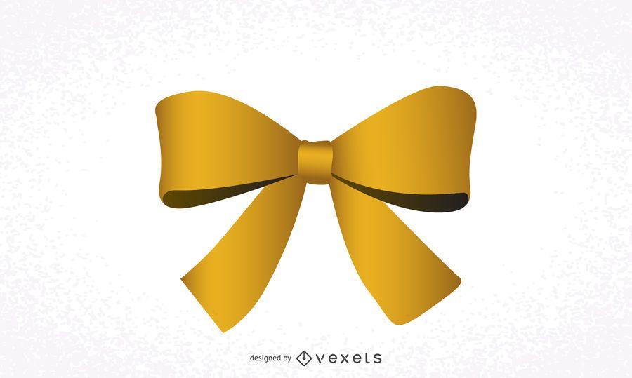Arco de fita amarela
