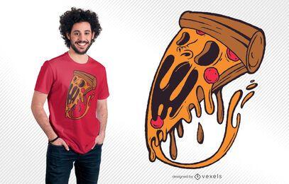 Monster Pizza T-shirt Design