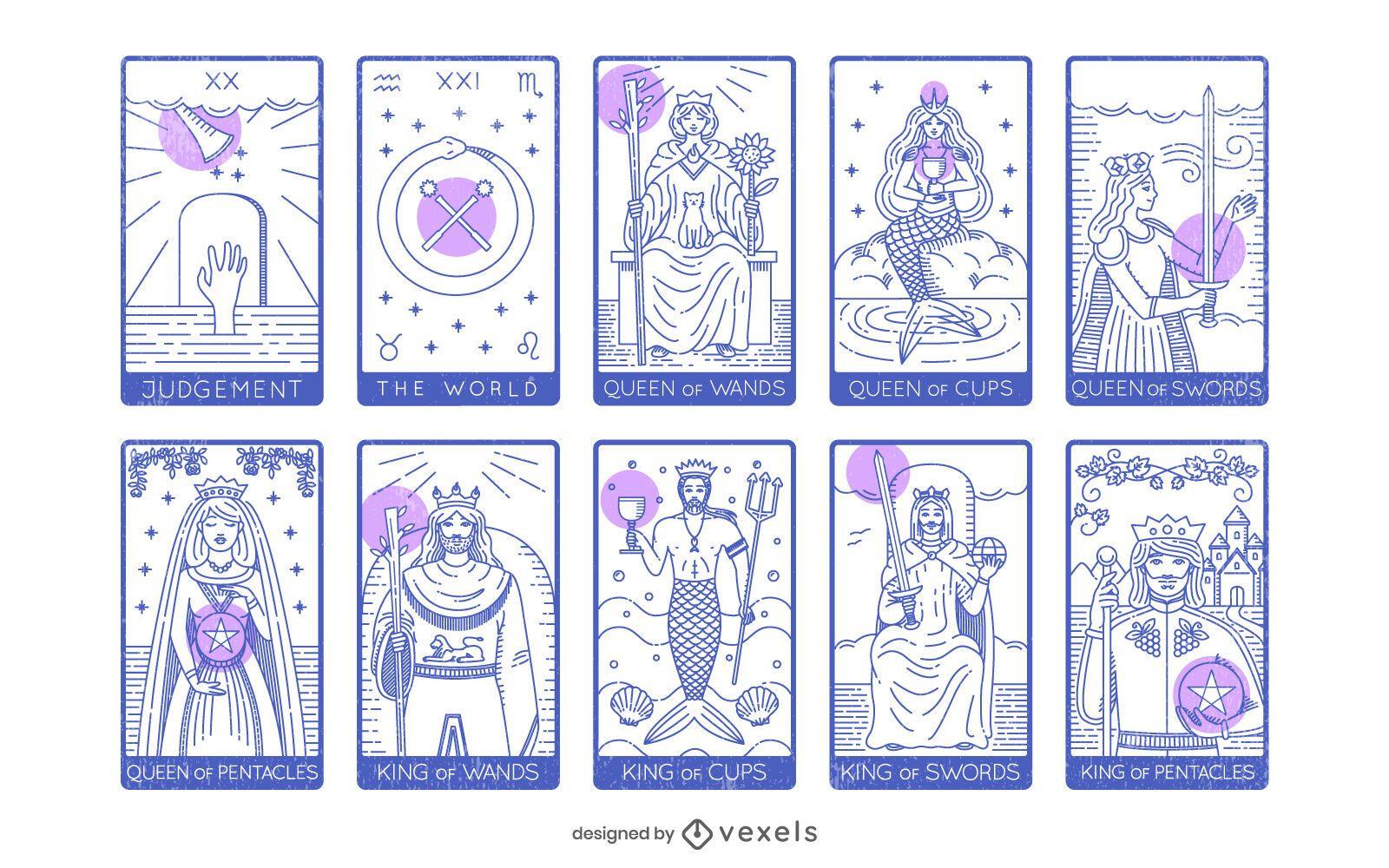 Tarot Cards Major and Minor Arcana Pack