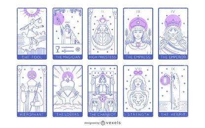 Tarot Card Major Arcana Pack
