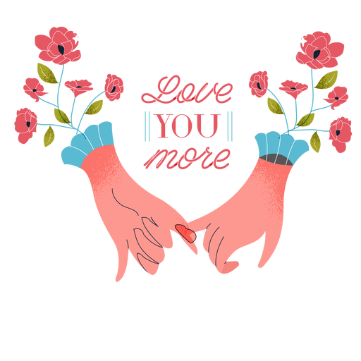 Love you more valentines valentines Transparent PNG