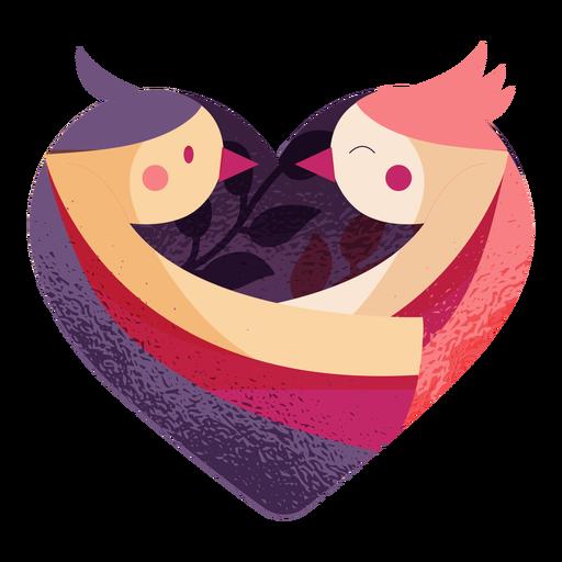 Valentines love birds valentines
