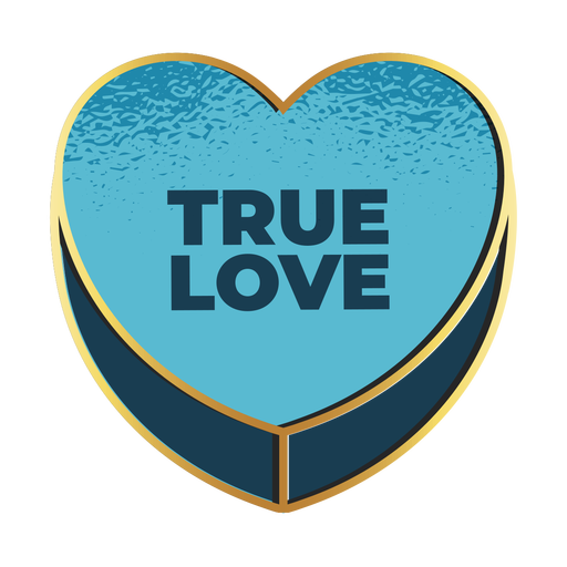 Valentines true love heart valentines Transparent PNG