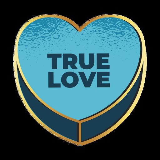 Valentines true love heart valentines