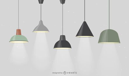 Office Lamps Design Pack