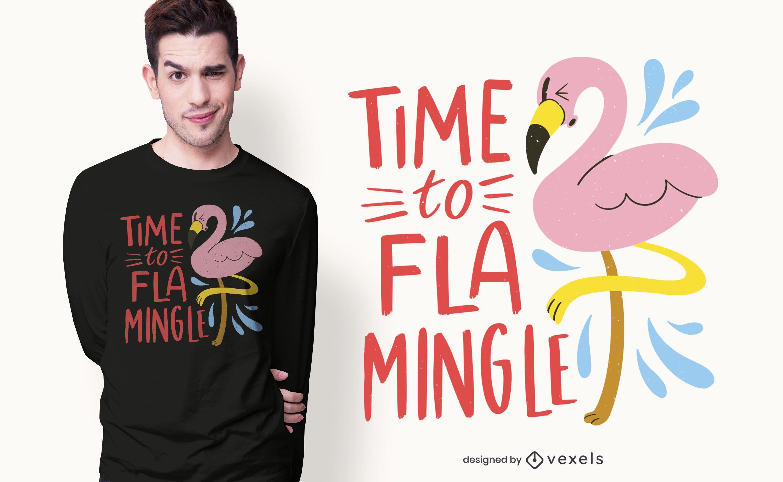 Es hora de mezclar el diseño de la camiseta.