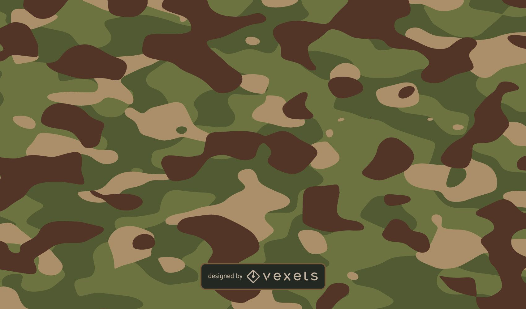Green Dirt Camo Background