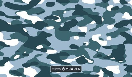 Fundo de textura de camuflagem azul