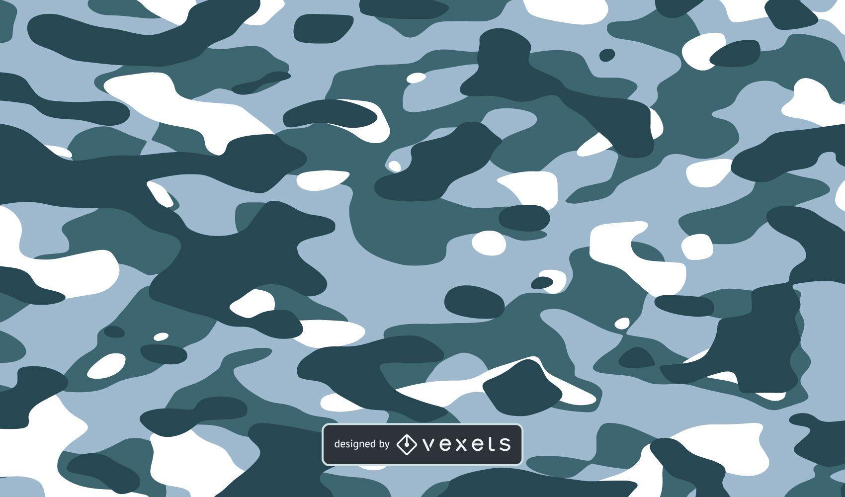 Blauer Camo-Textur-Hintergrund