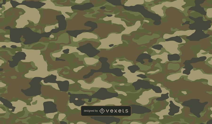 Green Camo Texture Background