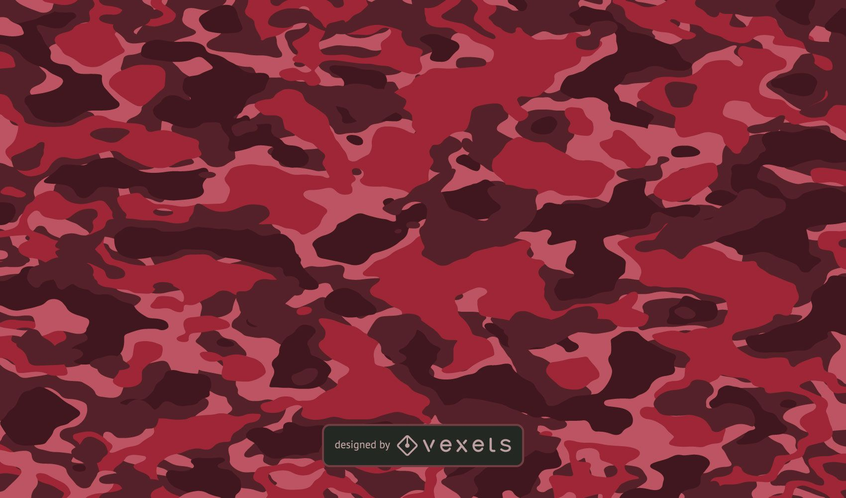 Fondo de textura de camuflaje rojo