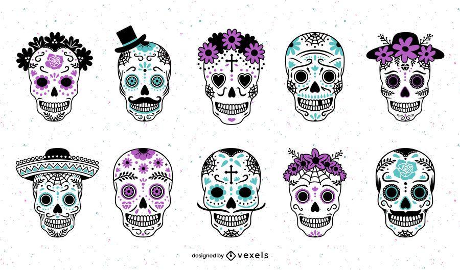 Sugar Skulls Design Pack