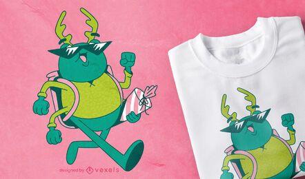 Diseño de camiseta Beetle Student.