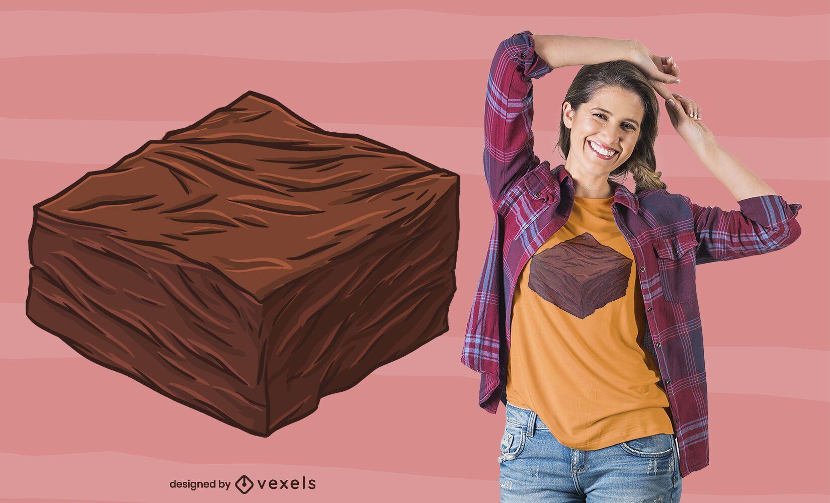 Brownie Piece T-shirt Design