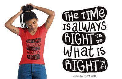 Faça o design certo para camisetas