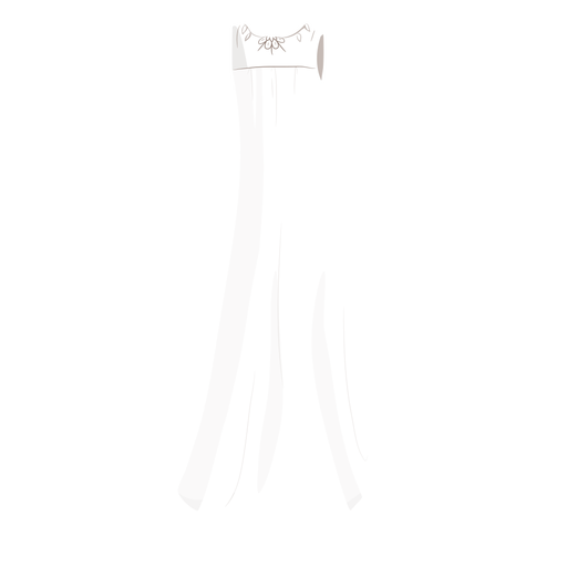 Bride wedding dress illustration Transparent PNG