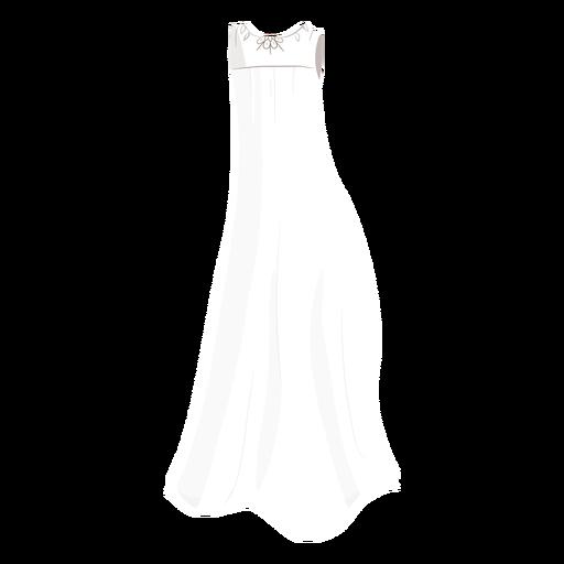 Bride wedding dress illustration