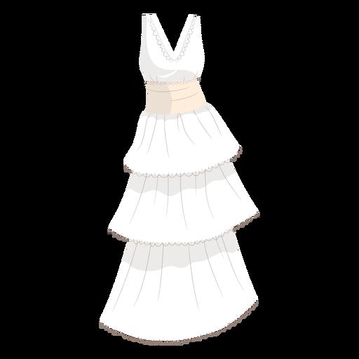 Bride wedding gown illustration Transparent PNG