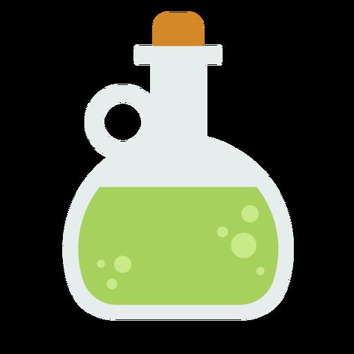 Aceite de cocina plano