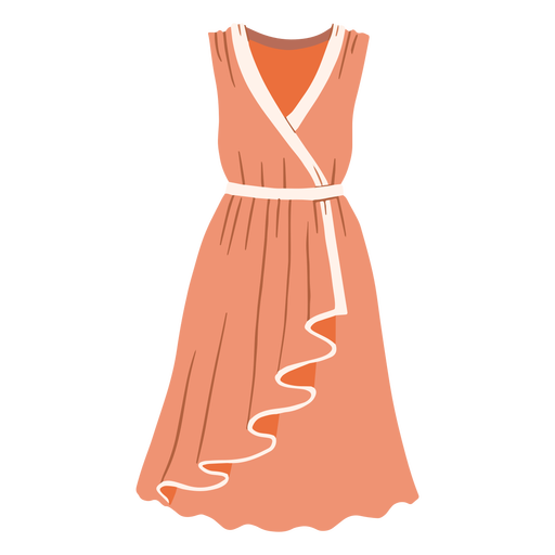 Outfit female dress illustration