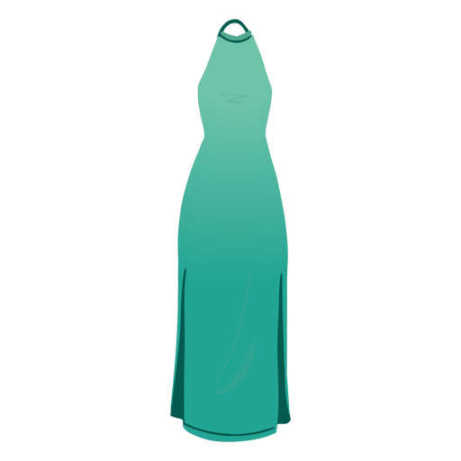 Outfit female halter dress illustration