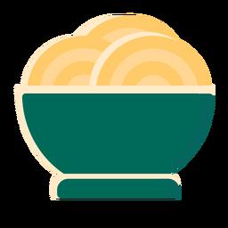 Pasta bowl spaguetti flat