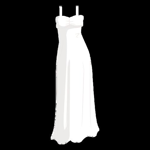 White wedding dress bride illustration Transparent PNG