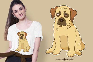 Diseño de camiseta Boerboel Puppy Dog