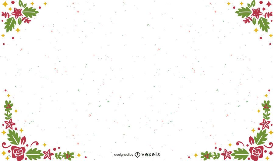Frame christmas background design
