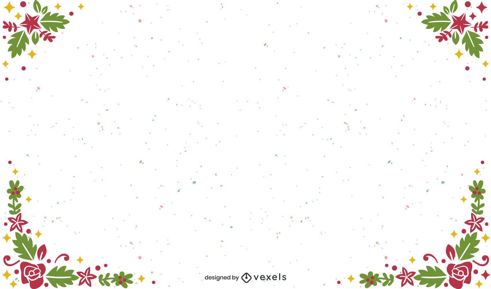 Desenho de fundo de natal