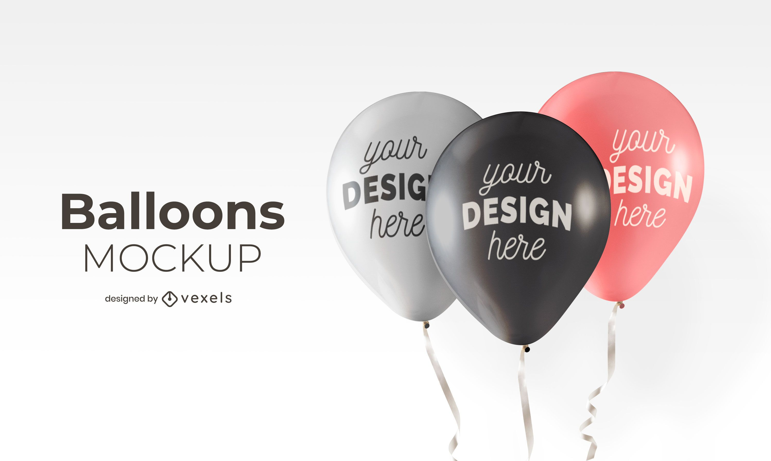 Diseño de maqueta de globos