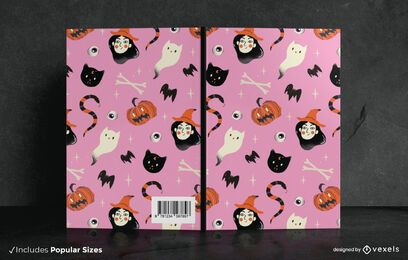 Halloween Doodle Book Cover Design