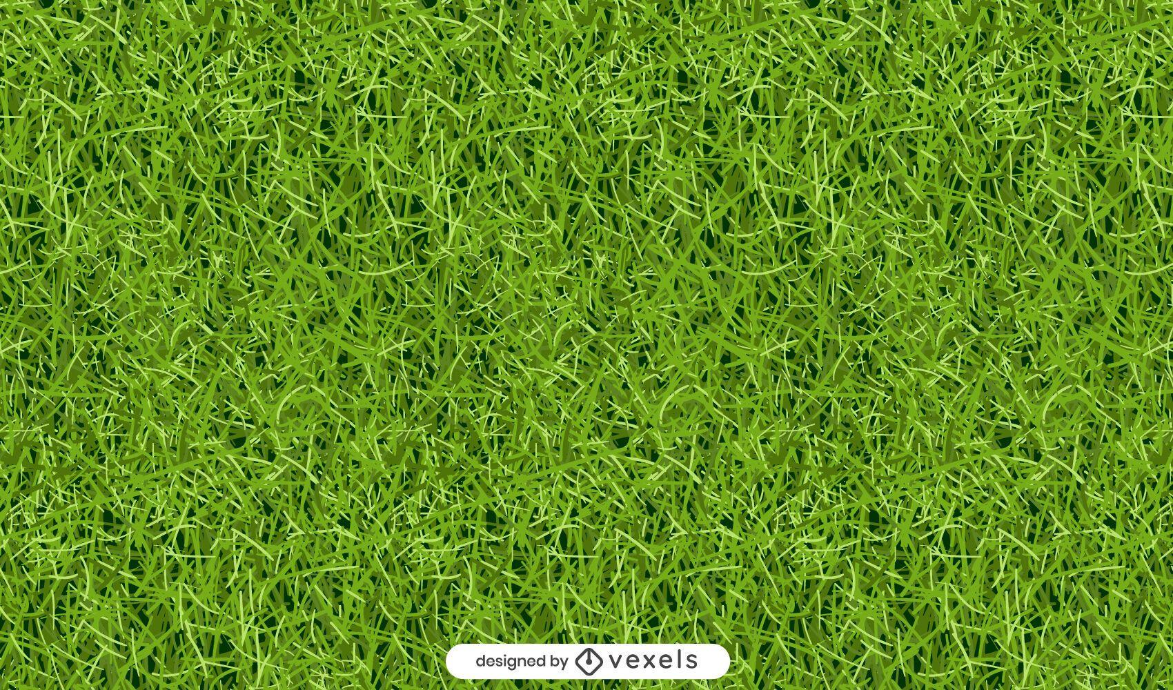 Diseño de patrón de hierba verde