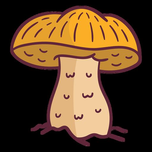 Ilustración de hongo seta césar