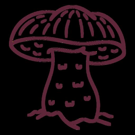 Acidente vascular cerebral César cogumelo