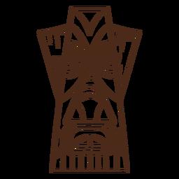 Trazo tiki hawaiano